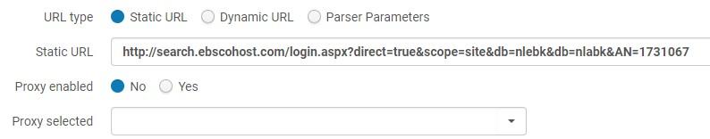 Portfolio static URL